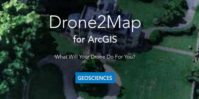 Εφαρμογή «Drone 2 map for ArcGis»